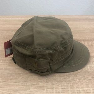 MOSSIMO Supply Co. Military Hat Green Cadet Patrol